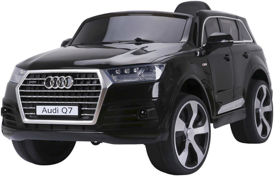 Pojazd elektryczny audi Q7 (licencja) z kołami EVA w kolorze czarnym